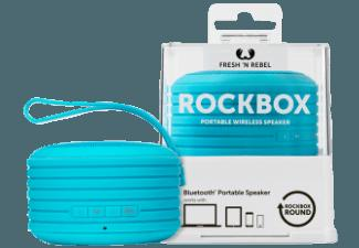 FRESH N REBEL Rockbox Round Dockingstation Blau