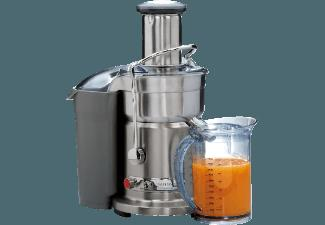 GASTROBACK 40129 Design Juicer Advanced Entsafter (1200 Watt, Edelstahl)
