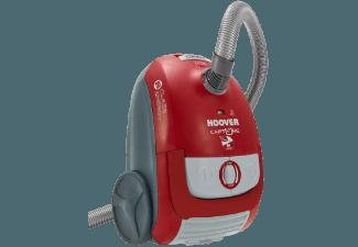 HOOVER CP70 CP09 (Bodenstaubsauger, Microfilter, B, Rot/Grau)