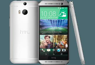 HTC One (M8) 16 GB Glacial Silber