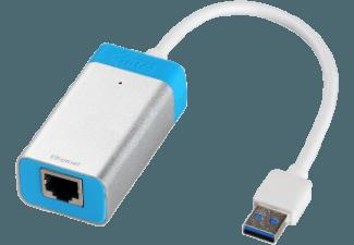 I-TEC U3GLANMETAL USB auf Ethernet Adapter