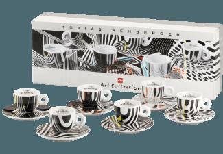 ILLY 4356 Art Collection Tobias Rehberger 6-tlg. Espressotassen