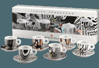 ILLY 4357 Art Collection Tobias Rehberger 6-tlg. Cappuccinotassen