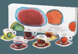 ILLY B019 Art Collection Francesco Clemente 6-tlg. Cappuccinotassen