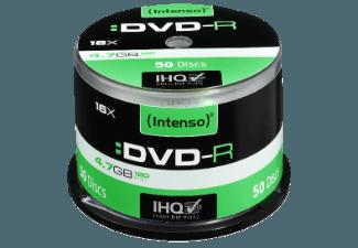 INTENSO 4101155 DVD-R 16X 50ER CAKEBOX DVD-R 50 Stück