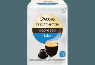 JACOBS 649007 Momente Espresso Dolce 10 Kapseln Kaffeekapseln Espresso Dolce (Intensität 3) (Nespresso®)
