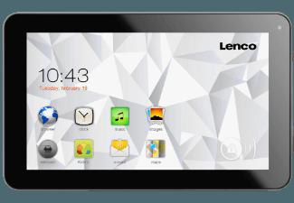 LENCO CT-74 8 GB  Tablet Dunkelgrau