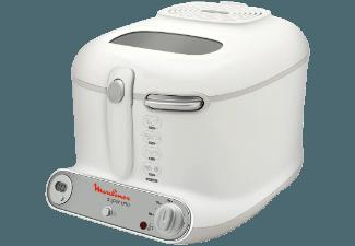 MOULINEX AM 3021 Super Uno Fritteuse Weiß (1500 g, 1.8 kW)