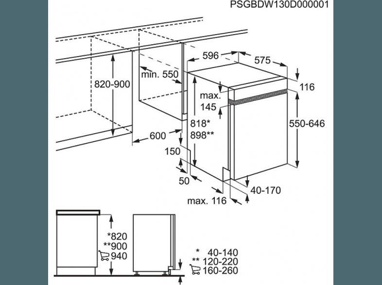 bedienungsanleitung aeg f50502im0 geschirrsp ler a 596 mm breit 49 db a edelstahl. Black Bedroom Furniture Sets. Home Design Ideas