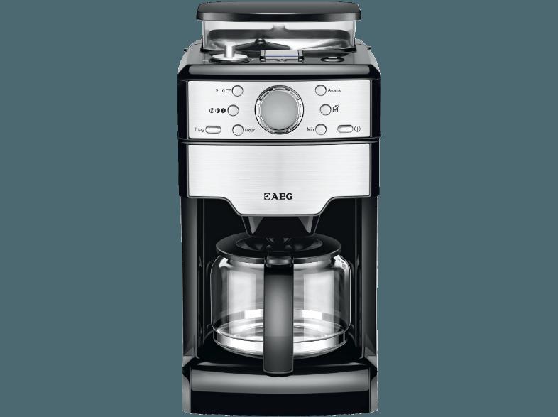 ... AEG KAM 300 Kaffeemaschine Edelstahl (Glaskanne) ...