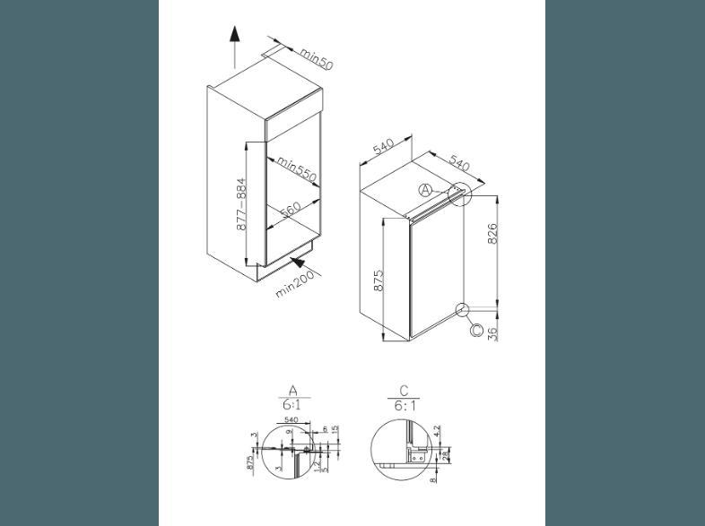 Amica Kühlschrank Gebrauchsanweisung : Bedienungsanleitung amica eks 16161 kühlschrank 186 kwh jahr a