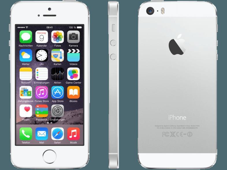 bedienungsanleitung apple iphone 5s 32 gb silber bedienungsanleitung. Black Bedroom Furniture Sets. Home Design Ideas