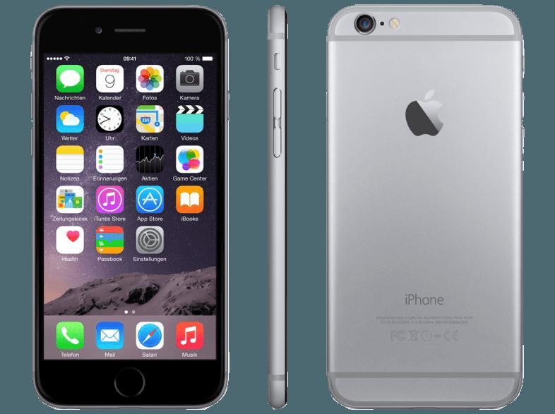 bedienungsanleitung apple iphone 6 64 gb spacegrau bedienungsanleitung. Black Bedroom Furniture Sets. Home Design Ideas