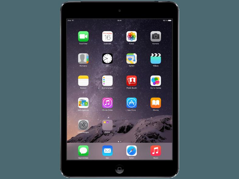APPLE ME800FD/A iPad Mini Retina 16 GB  Tablet Spacegrau