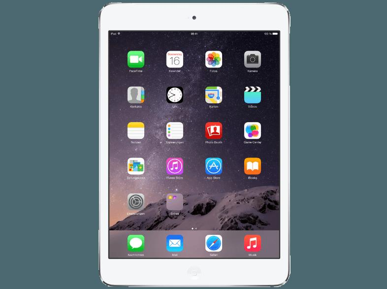 APPLE ME814FD/A iPad Mini 2 Retina 16 GB  Tablet Silber