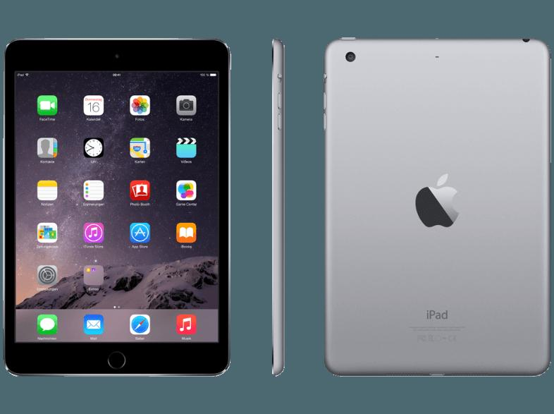 APPLE MGNR2FD/A iPad Mini 3 16 GB  Tablet Grau