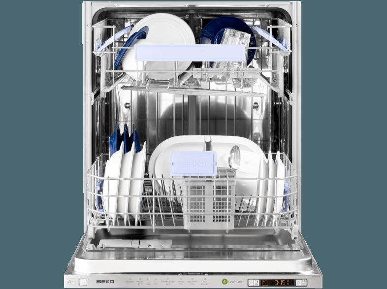 bedienungsanleitung beko din 6831 fx geschirrsp ler a 598 mm breit 44 db a wei. Black Bedroom Furniture Sets. Home Design Ideas