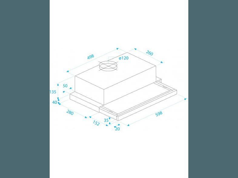 Bedienungsanleitung beko dt 312 i dunstabzugshaube 300 mm for Beko dunstabzugshaube
