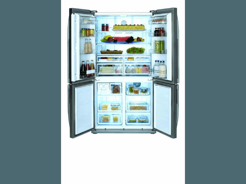 Side By Side Kühlschrank Vorteile Nachteile : Bedienungsanleitung beko gne side by side kwh jahr