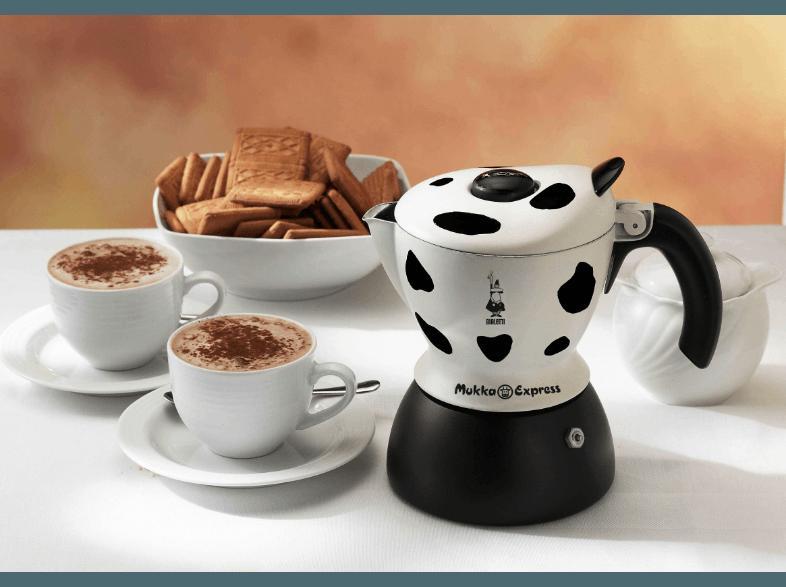 bedienungsanleitung bialetti mukka express 2 tlg cappuccinobereiter wei schwarz. Black Bedroom Furniture Sets. Home Design Ideas