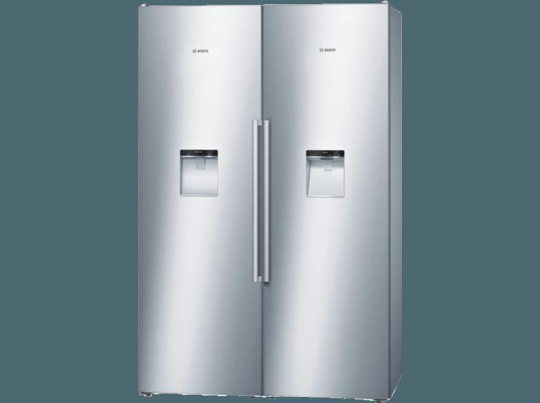 Kühlschrank Und Gefrierschrank Side By Side : Bedienungsanleitung bosch kad pi side by side kwh jahr a