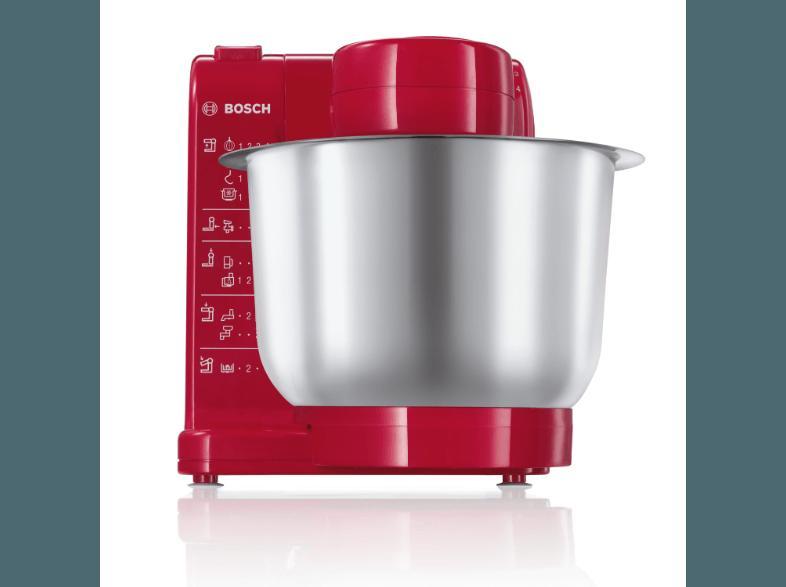 Bedienungsanleitung Bosch Mum 44 R 1 Kuchenmaschine Rot 500 Watt