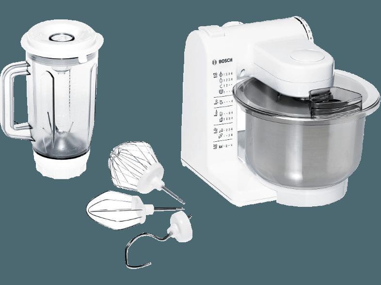 Bedienungsanleitung BOSCH MUM 4409 Küchenmaschine Weiß 500 Watt ...