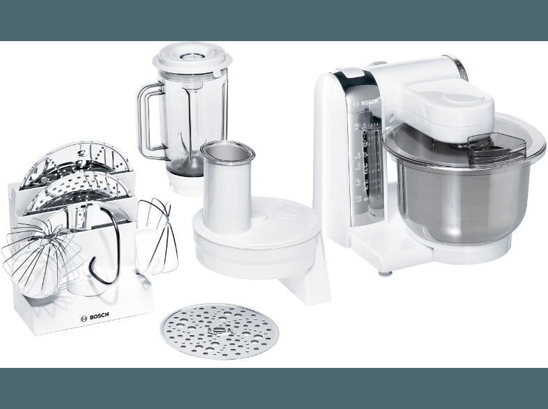 Bedienungsanleitung BOSCH MUM 48 CR 1 Küchenmaschine Weiß 600 Watt ...