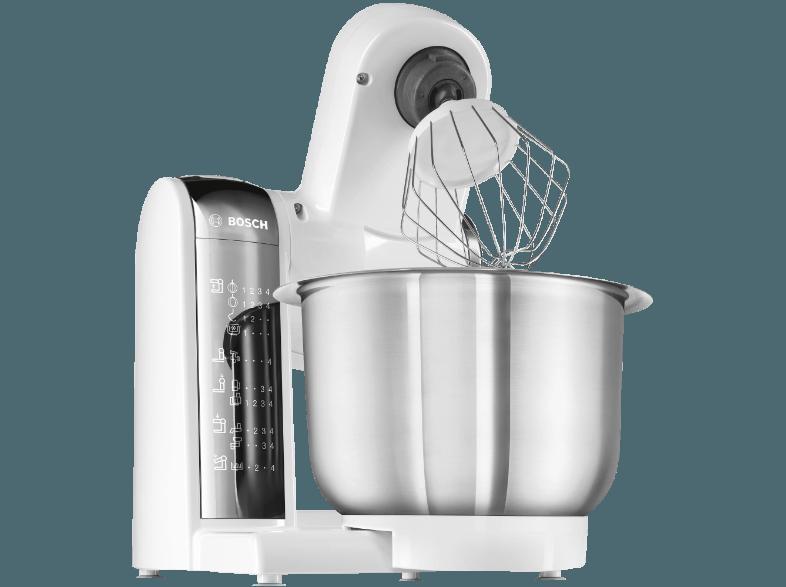Bedienungsanleitung Bosch Mum 48 Cr 1 Kuchenmaschine Weiss 600 Watt