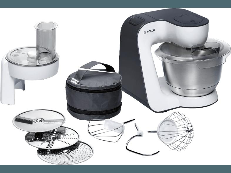 Bedienungsanleitung BOSCH MUM 52110 Küchenmaschine Weiß 700 Watt ...