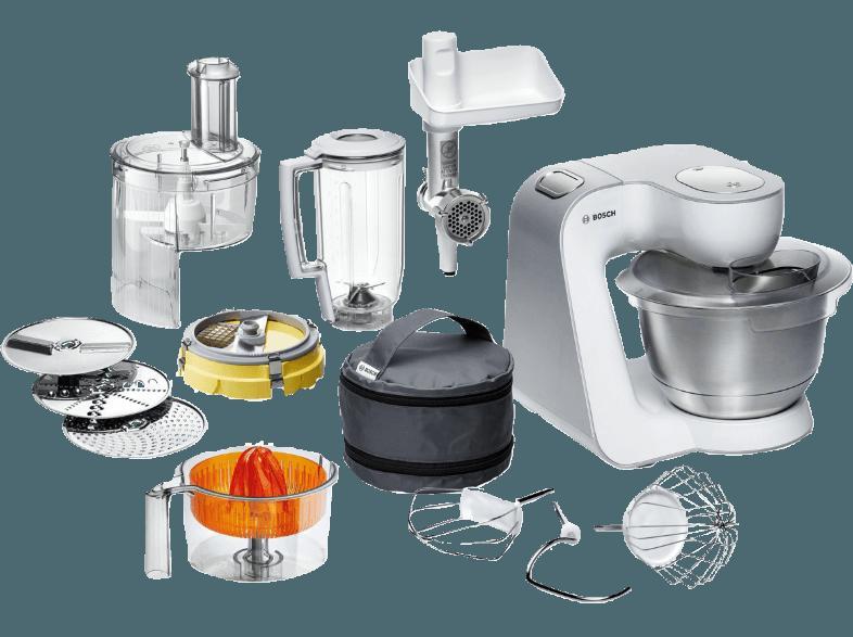 Bedienungsanleitung BOSCH MUM 54251 Küchenmaschine Weiß 900 Watt ...