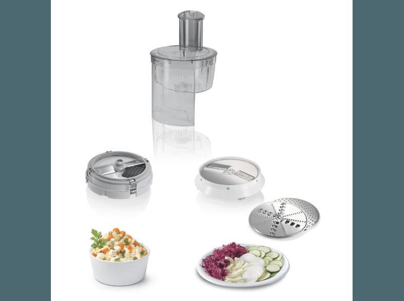 Bedienungsanleitung Bosch Mum 54251 Küchenmaschine Weiß 900 Watt