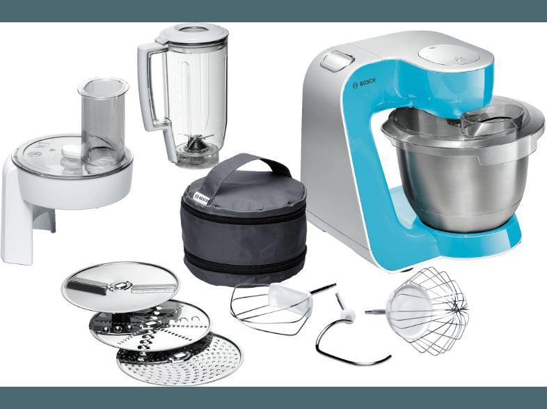 Bedienungsanleitung BOSCH MUM 54520 Küchenmaschine Blau 900 Watt ...
