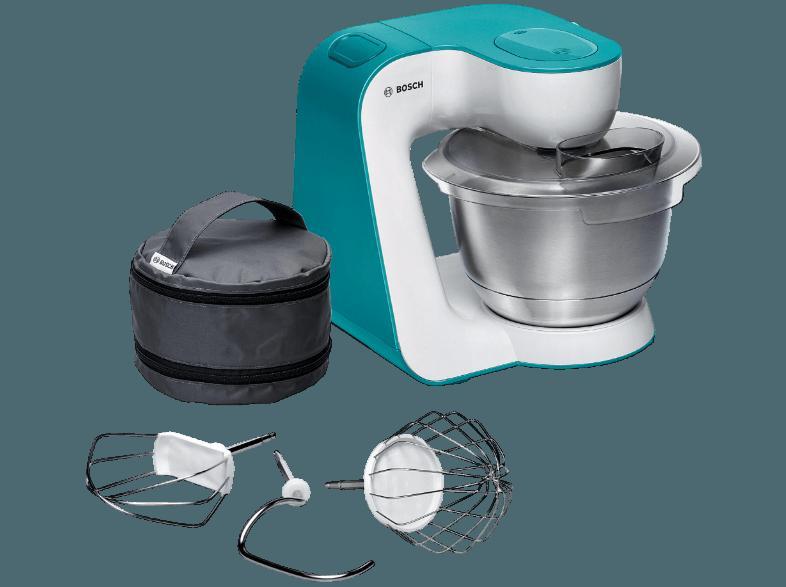 Bedienungsanleitung Bosch Mum 54d00 Kuchenmaschine Weiss Dynamicblau