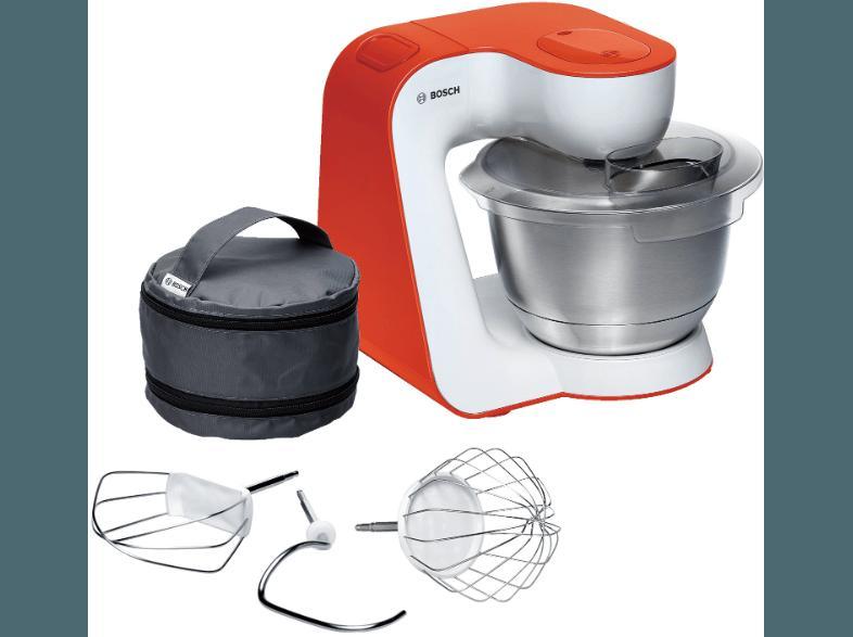 Bedienungsanleitung BOSCH MUM 54I00 Küchenmaschine Weiß/Orange 900 ...