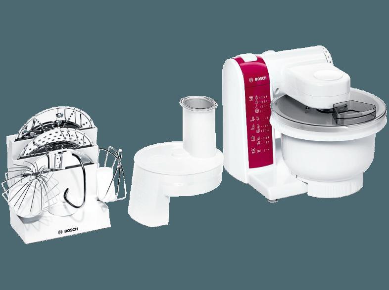Bedienungsanleitung BOSCH MUM4825 Küchenmaschine Weiß 600 Watt ...