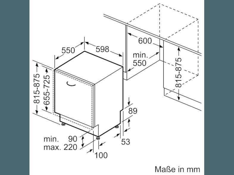 bedienungsanleitung bosch smv68n20eu geschirrsp ler a 598 mm breit 44 db a edelstahl. Black Bedroom Furniture Sets. Home Design Ideas