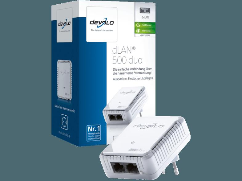 DEVOLO 9099 dLAN® 500 DUO PowerLAN-Adapter