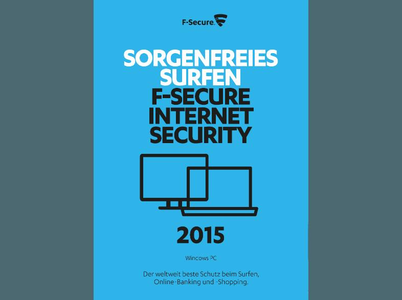 F-Secure Internet Security 2015 3PCs