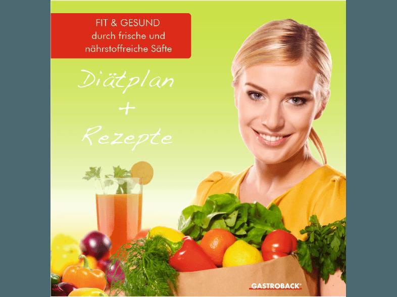 Bedienungsanleitung GASTROBACK 40137 Smart Health Juice ~ Entsafter Bedienungsanleitung