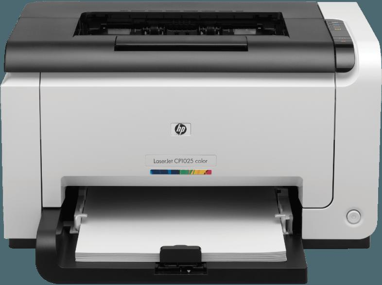 HP Color LaserJet Pro CP1025 Laserdruck Laserdrucker  Nein (optional mit externem Printserver)