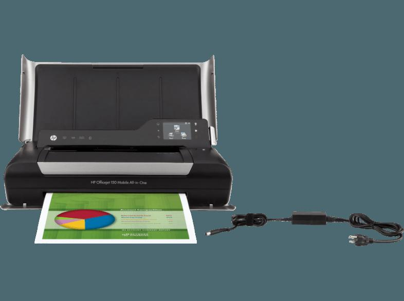 HP Officejet 150 Tintenstrahl 3-in-1 Tinten-Multifunktionsgerät
