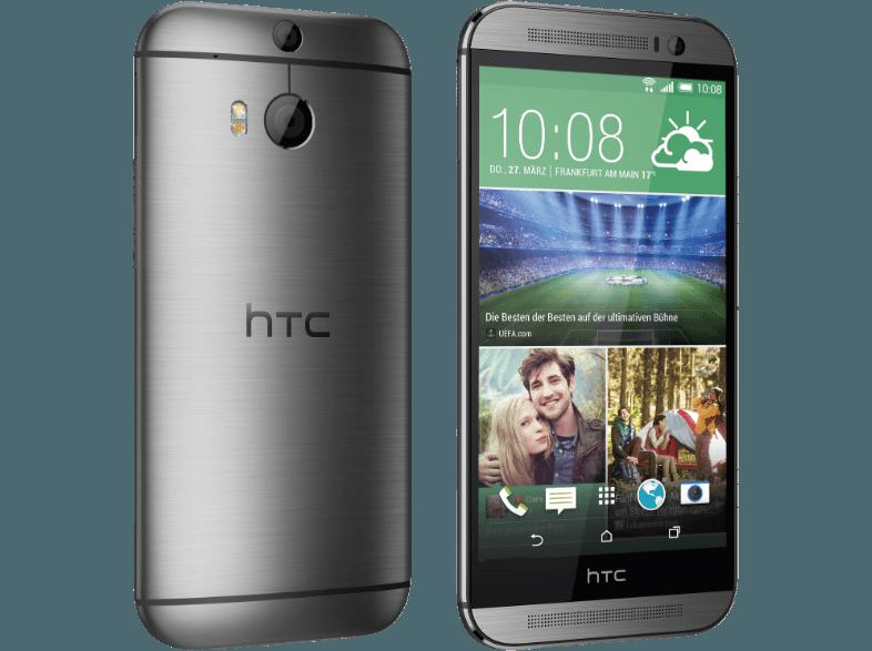 HTC One (M8) 16 GB Gunmetal grey