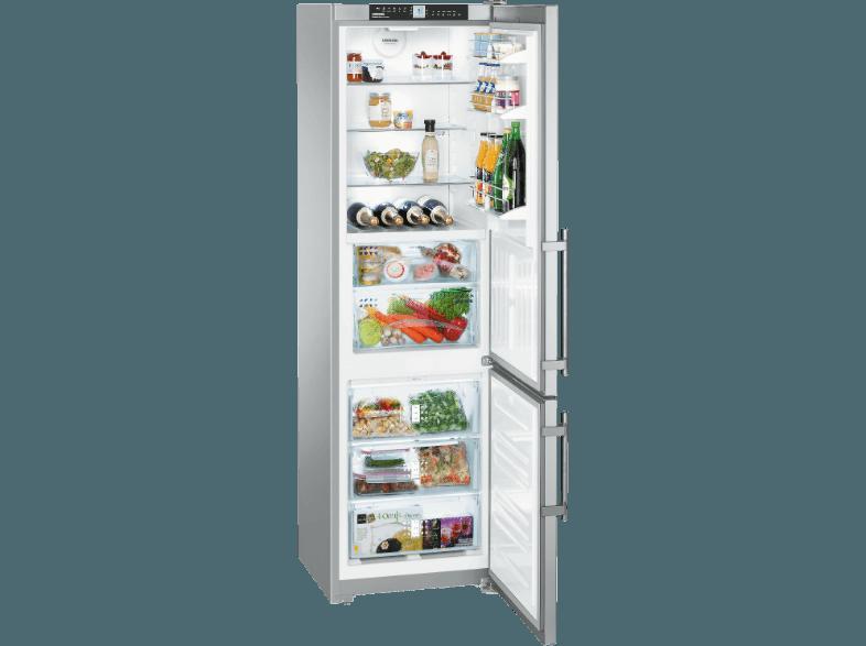 Liebherr Kühlschrank Edelstahl : Bedienungsanleitung liebherr cbnpes kühlgefrierkombination
