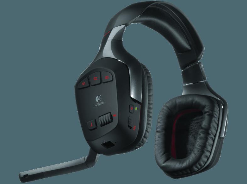 bedienungsanleitung logitech g930 kabelloses headset. Black Bedroom Furniture Sets. Home Design Ideas