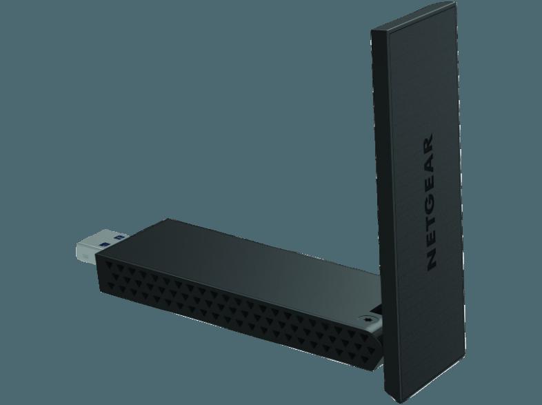 Bedienungsanleitung NETGEAR A6210-100PES AC1200-High-Gain