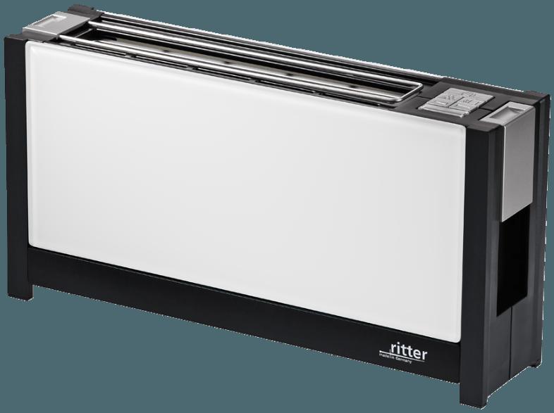 bedienungsanleitung ritter volcano 5 toaster wei 950 watt schlitze 1. Black Bedroom Furniture Sets. Home Design Ideas