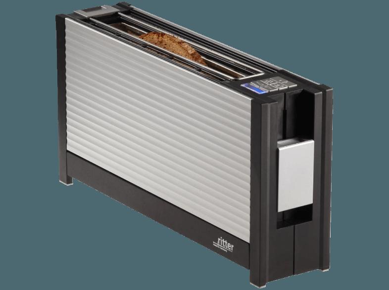bedienungsanleitung ritter volcano 3 toaster silber 950 watt schlitze 1. Black Bedroom Furniture Sets. Home Design Ideas
