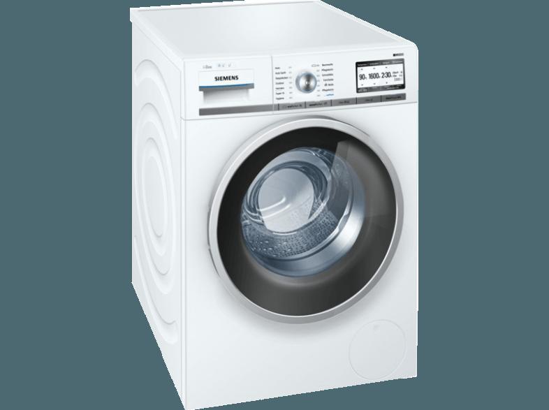 Bedienungsanleitung SIEMENS WM16Y843 Waschmaschine (8 k