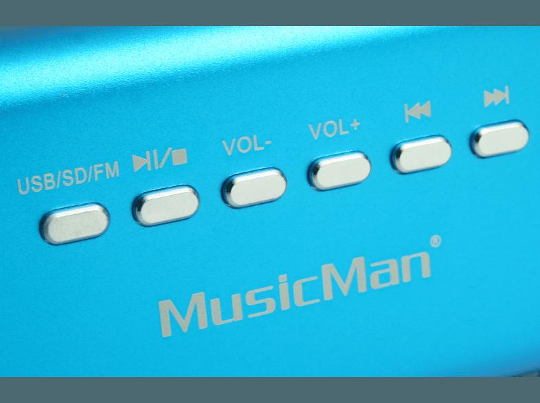 TECHNAXX Musicman MA Soundstation 3430 Dockingstation Blau